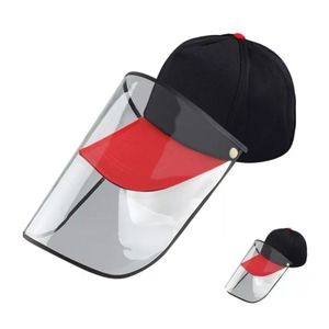 Basketball Cap with Face Shield Hat Faceshield